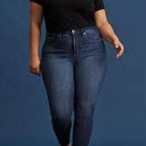 Torrid Straight Leg Denim Jeans ( 24R )